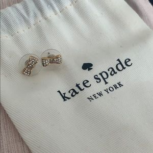 2 for $35 ☀️ Kate Spade Bow Earrings